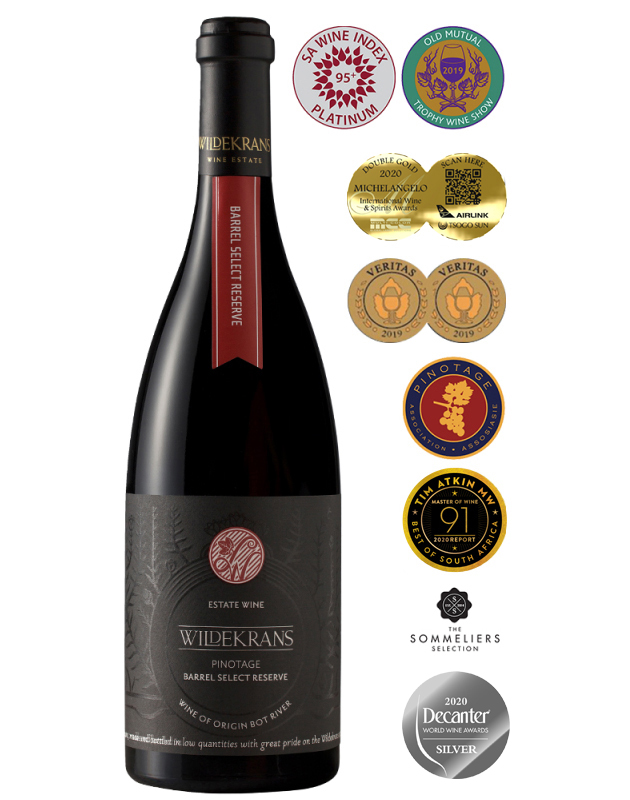 Wildekrans Pinotage Barrel Select Reserve